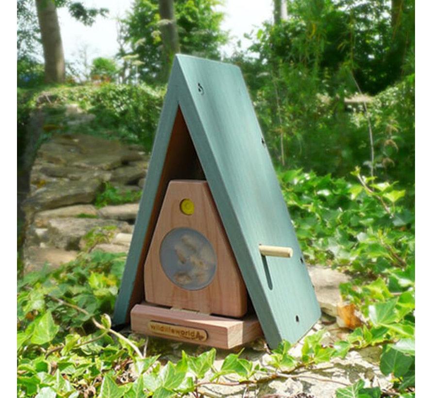 Vlinderhuis met instructieboekje en zaadjes