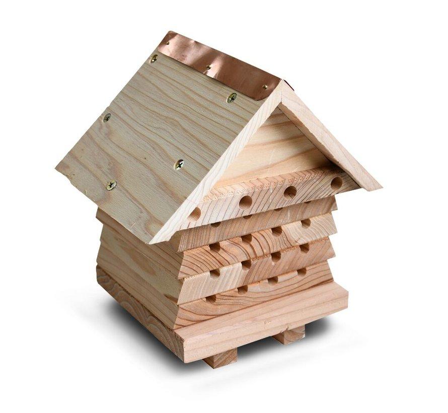 Bijenhotel Hout - Stapelbaar