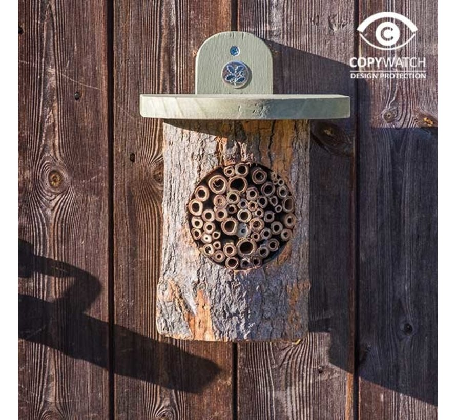 Bijenhuis Boomstam - Wicken Fen