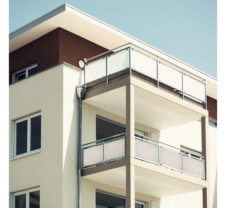 Balkonscherm - Wit