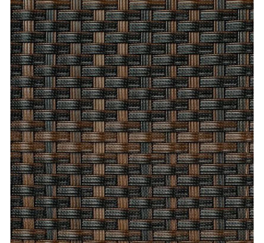 Balkonscherm - Bruin & Zwart