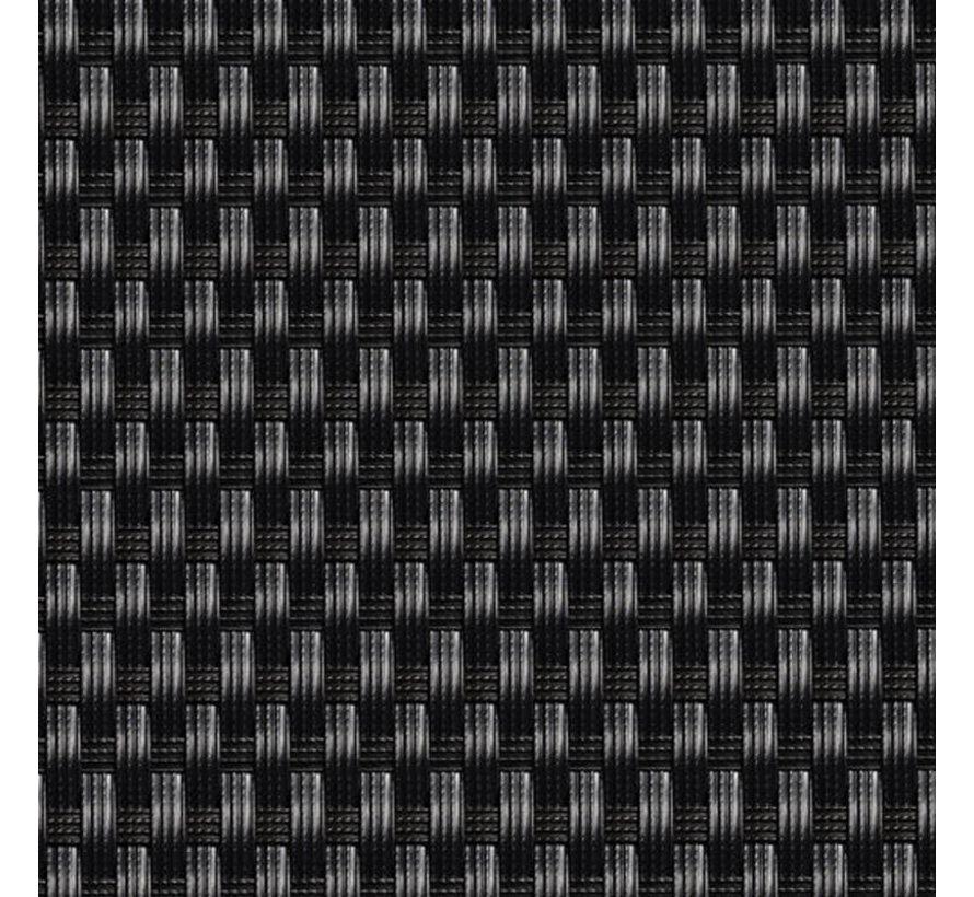 Balkonscherm - Zwart