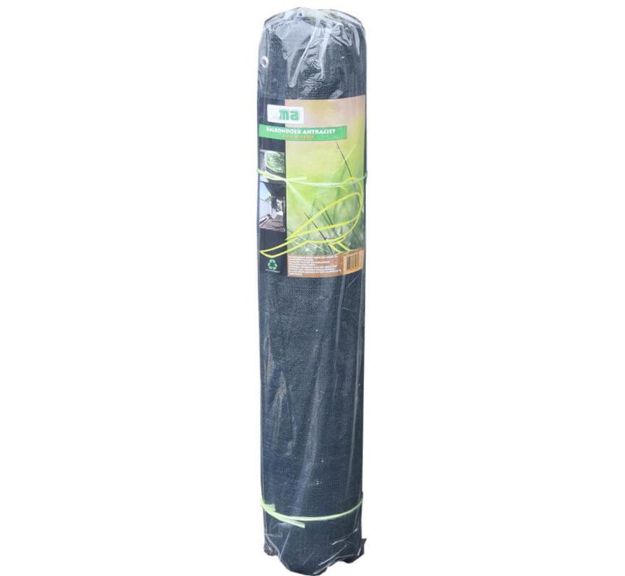Balkondoek - Antraciet - 0,9 x 5 meter