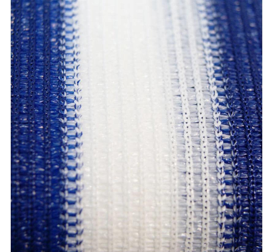 Balkondoek - Blauw / Wit