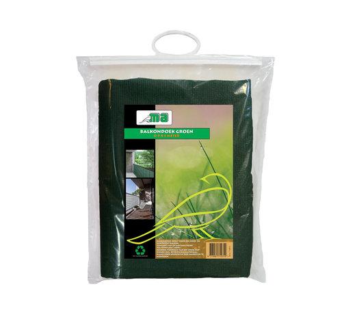 Meuwissen Agro Balkondoek - Groen - 0,9 x 5 meter