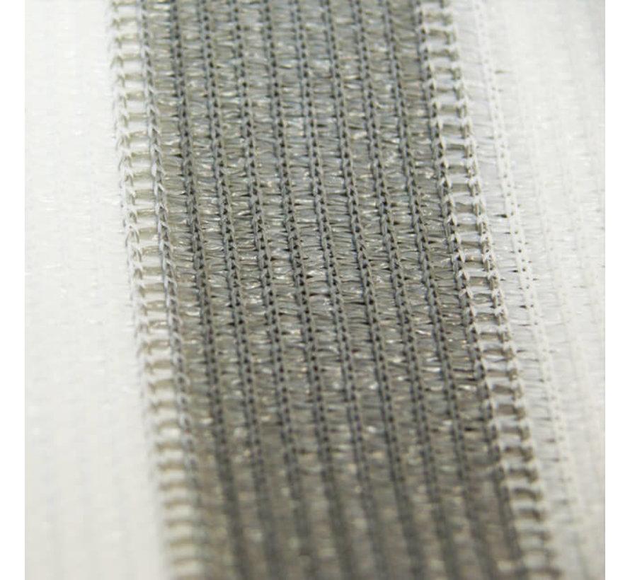 Balkondoek - Grijs / Wit - 0,9 x 5 meter