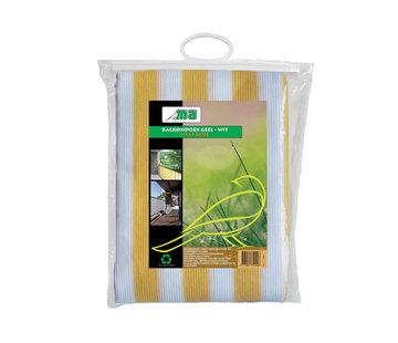 Meuwissen Agro Balkondoek - Geel / Wit - 0,9 x 5 meter