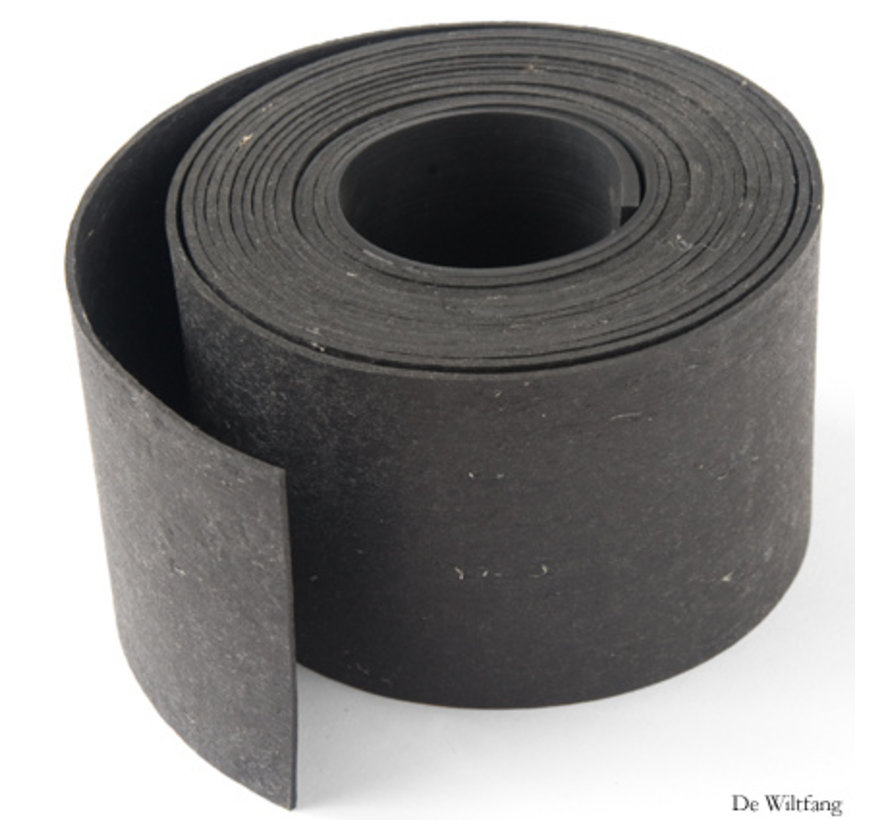 Kantopsluiting Recycled rubber - 5 meter