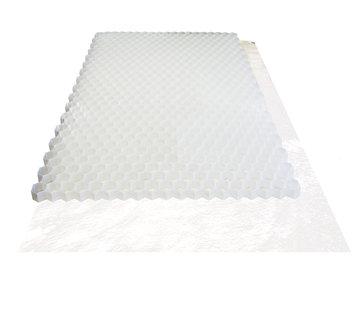 Trudiplas Grindplaat wit 120 x 80 cm - met onderdoek