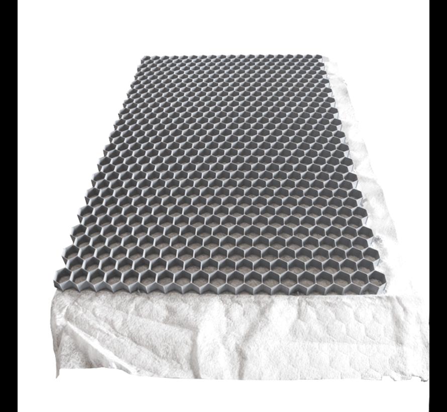 Pallet Splitmatten Grijs - 120 x 80 cm  - Onderdoek - 75 stuks