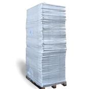 Trudiplas Pallet Splitmatten Grijs - 120 x 80 cm  - Onderdoek - 75 stuks
