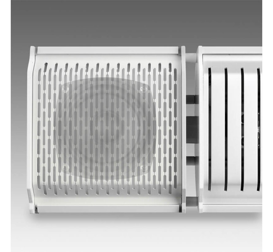 Eurom Heat and Beat - Terrasverwarmer - Wit