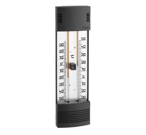 TFA Thermometer - Mini/Max - Kwikvrij zwart