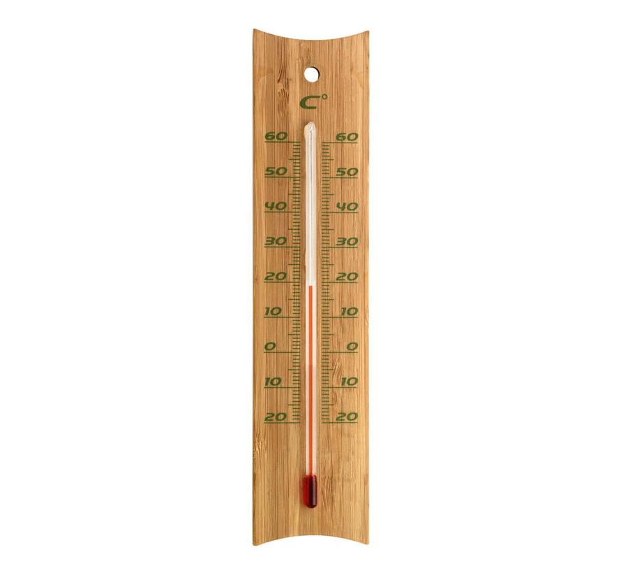 Bamboe Thermometer - Binnen en Buiten