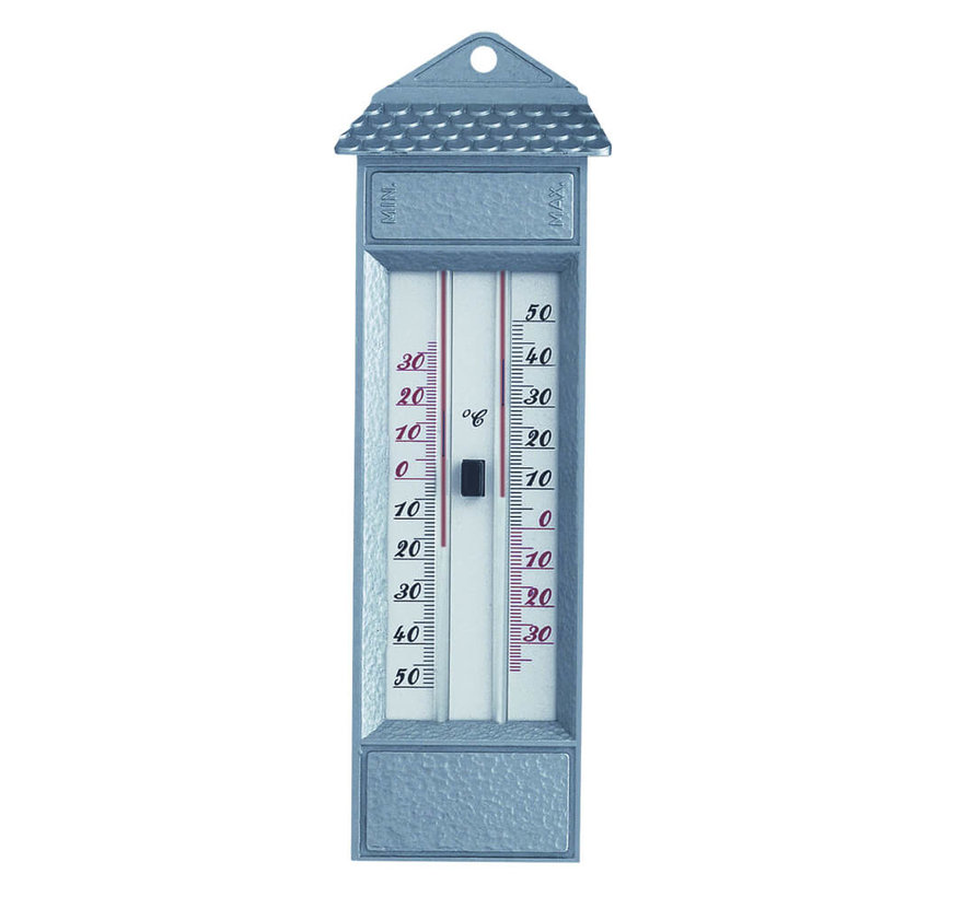 Thermometer - Max-Min - Kwikvrij Zilver