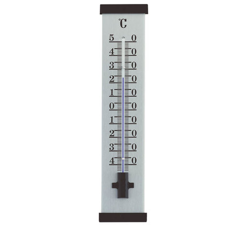 TFA Thermometer Aluminium - Zwart