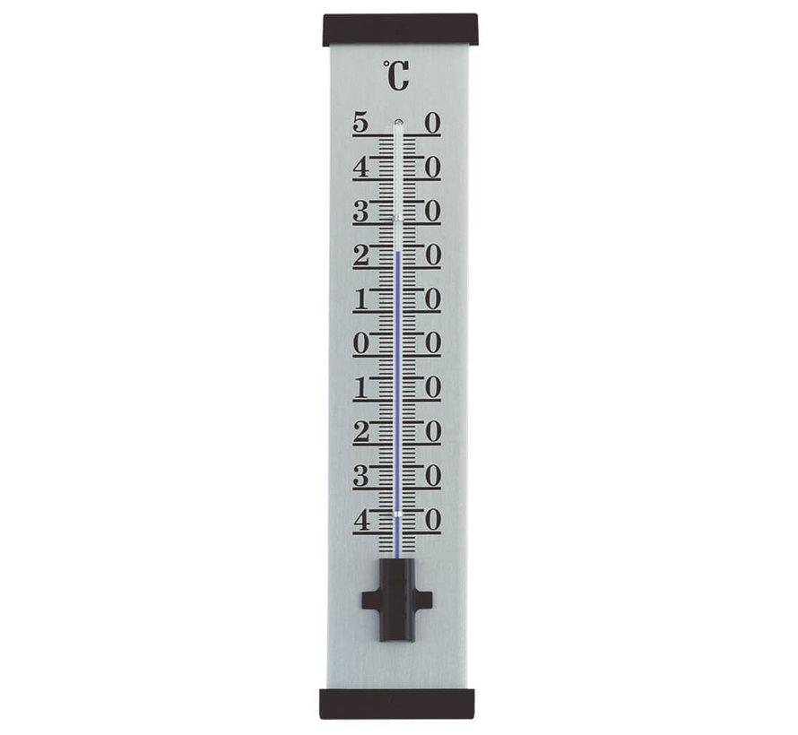 Thermometer Aluminium - Zwart