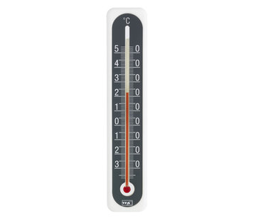 TFA Thermometer Kunststof - Wit - Antraciet