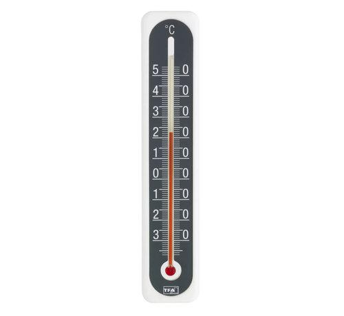 TFA Thermometer Kunststof - Wit - Antraciet