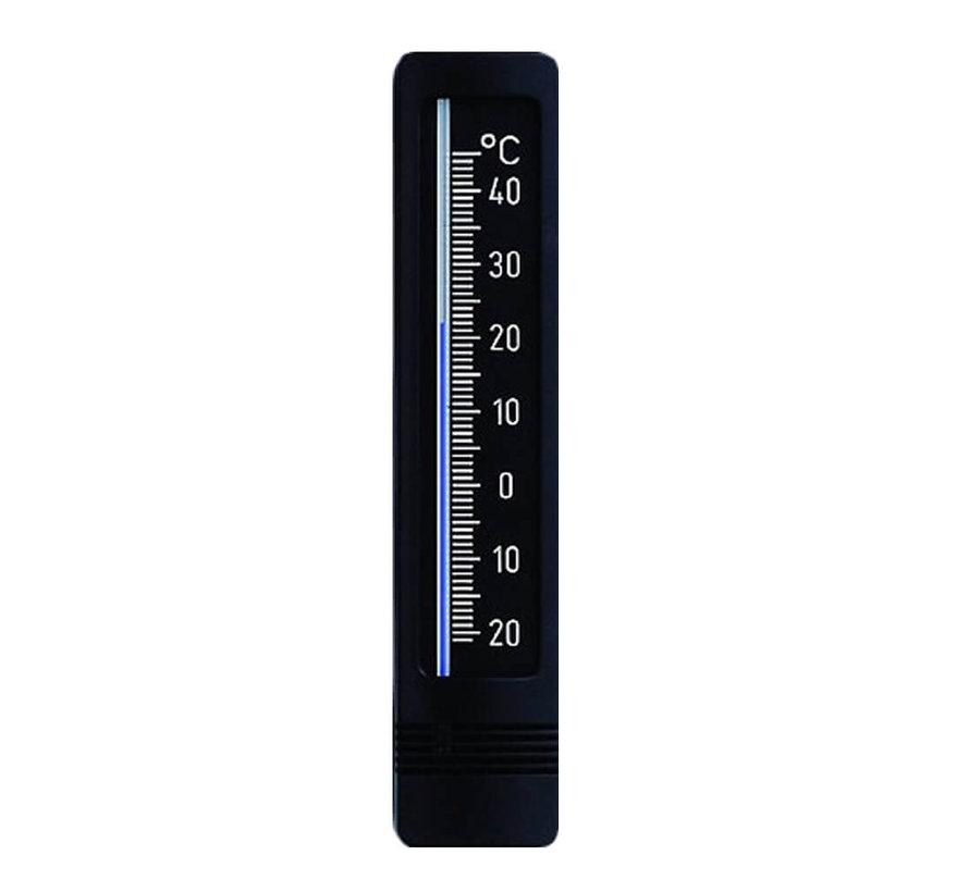 Thermometer - 22 cm Zwart - Zilver
