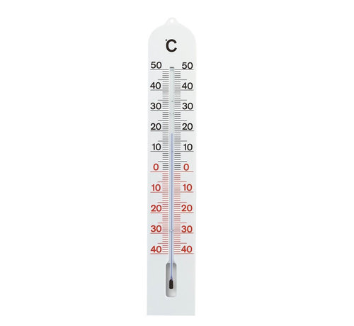 TFA Thermometer - 41 cm - Kunststof - Wit