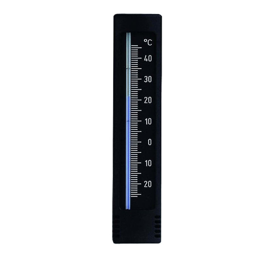 Thermometer - 14,5 cm - Zwart