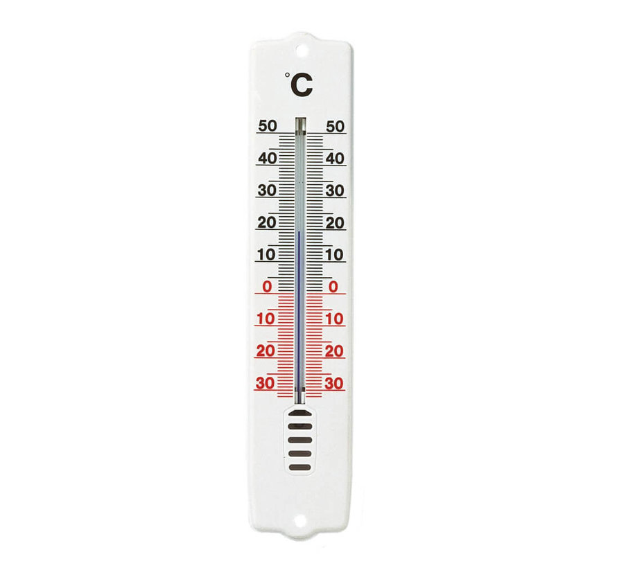 Thermometer - 21 cm - Wit