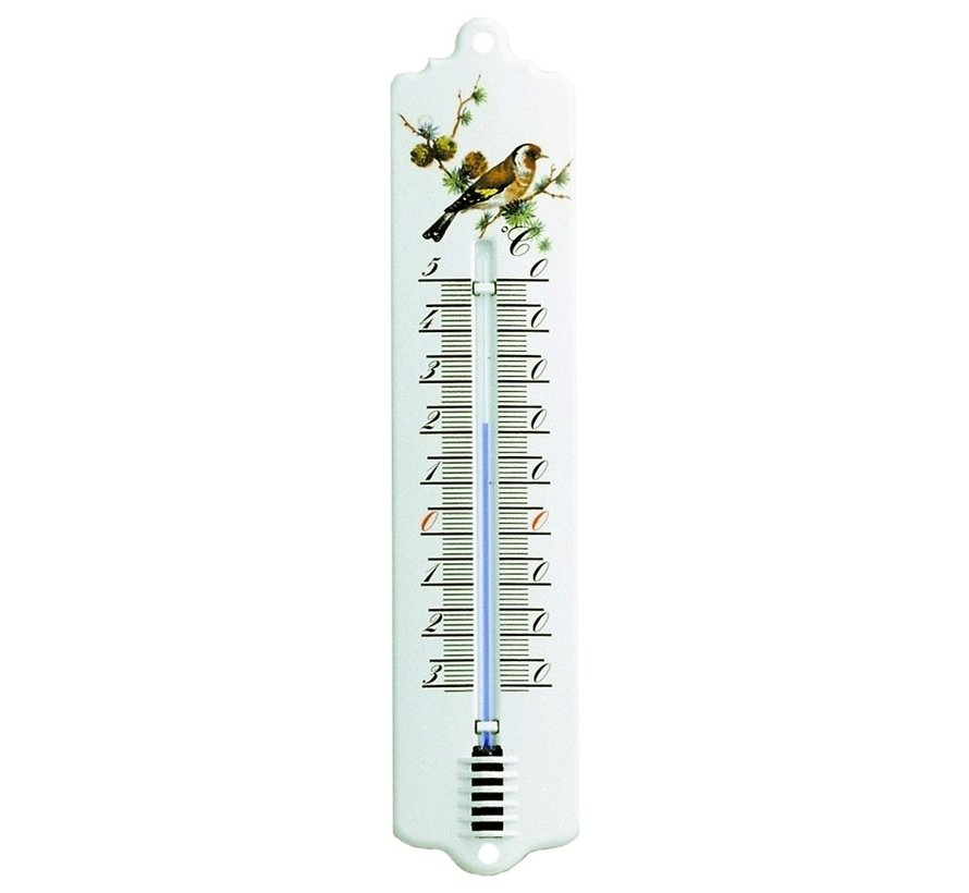 Thermometer - 22,5 cm - Email Vogel