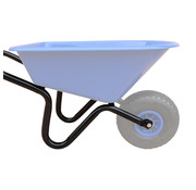 Meuwissen Agro Kinderkruiwagen Onderstel - Blauw