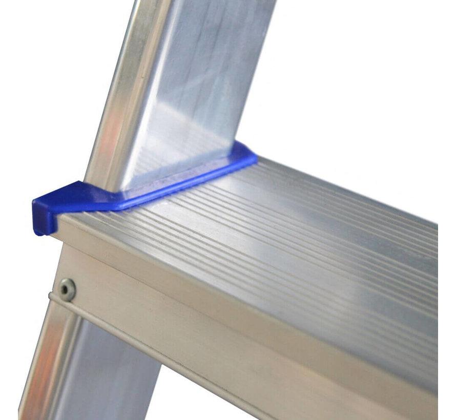 Huishoudtrap Aluminium - Eco 4 treden