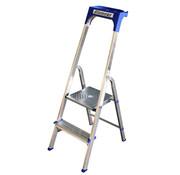 Alumexx Huishoudtrap Aluminium - Eco 2 treden