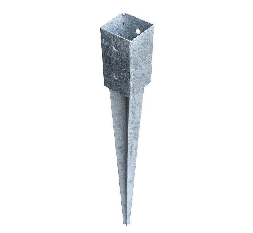 Paalhouder Thermisch Verzinkt 70 x 70 x 750 mm