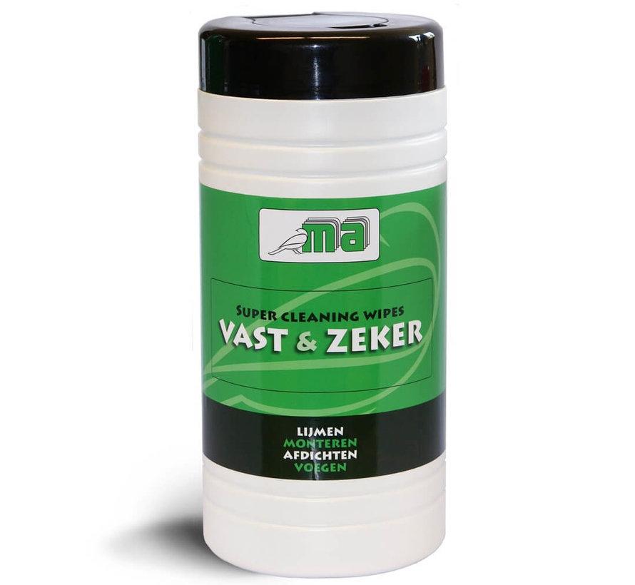 Vast en Zeker - Cleaning wipes