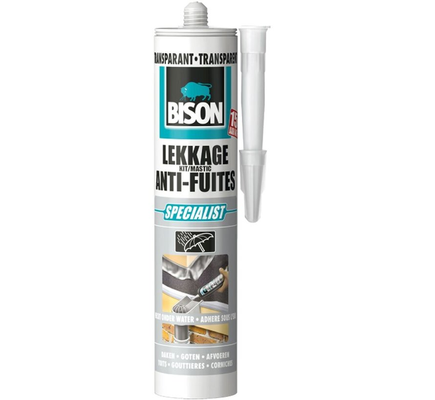 Bison Lekkagekit - 300 ml - Transparant