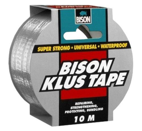 Bison Bison Klus Tape 10 x 50 mm grijs