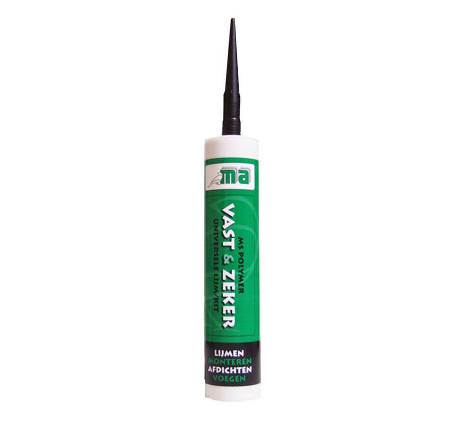 MS Polymeer - Kit Vast en Zeker Zwart