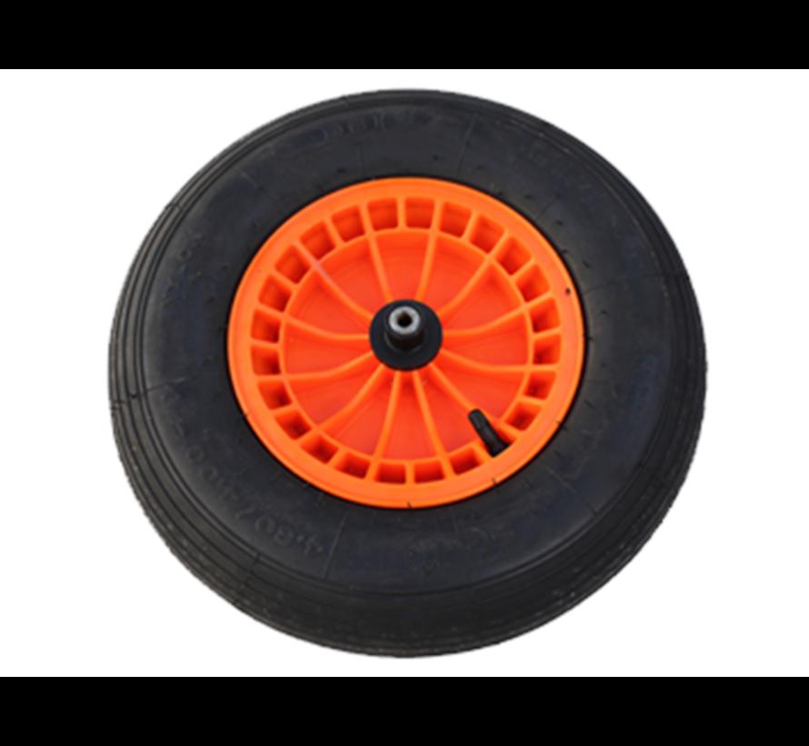 Luchtbandwiel Kunststofvelg - Oranje