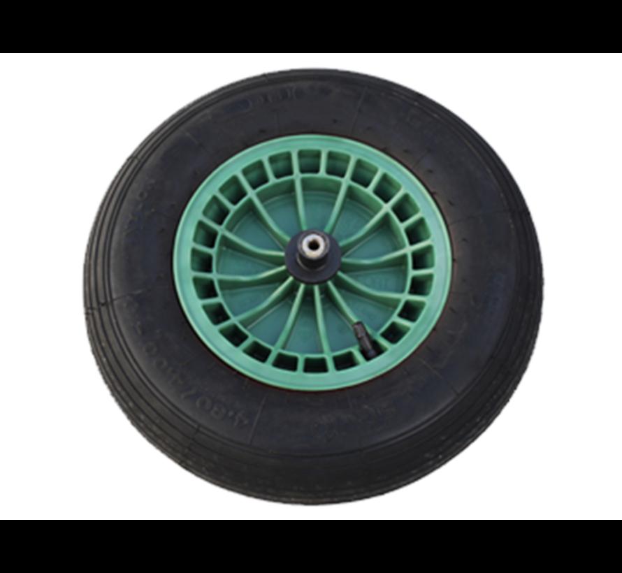 Luchtbandwiel Kunststofvelg - Groen