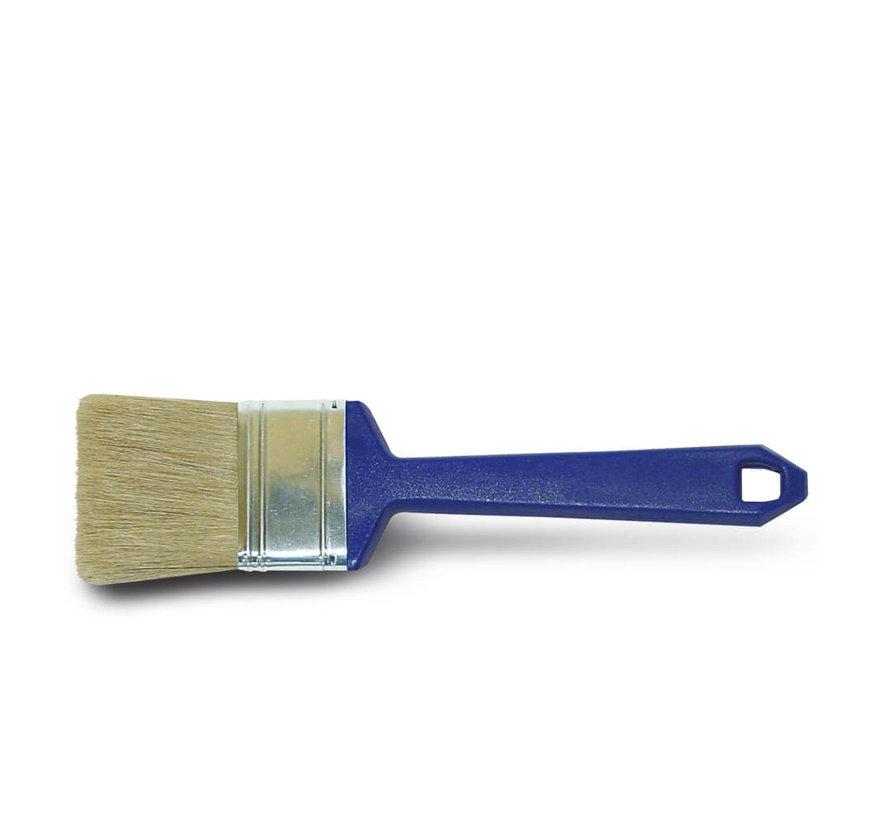 Wegwerpkwast Plat - Serie 2001 - Wit haar - 5 cm