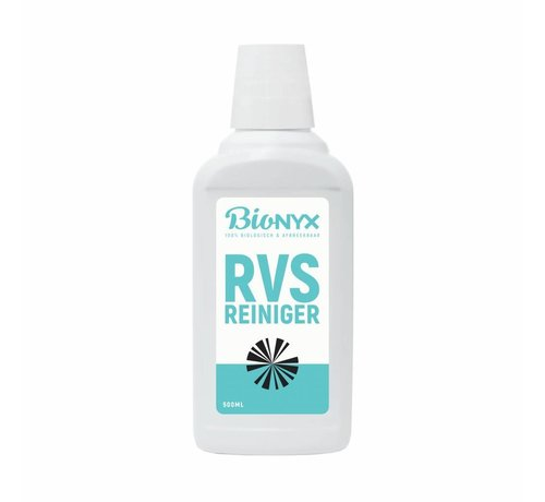 Bionyx RVS reiniger - 500 ml