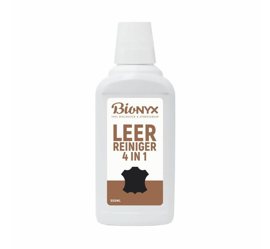 Leerreiniger - 4 in 1 - 500 ml