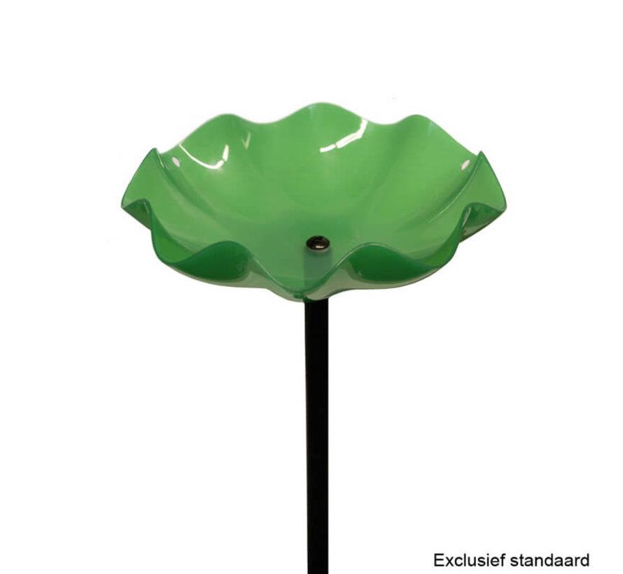 Vogelbadje geschulpt Kunststof - Ø 20 cm