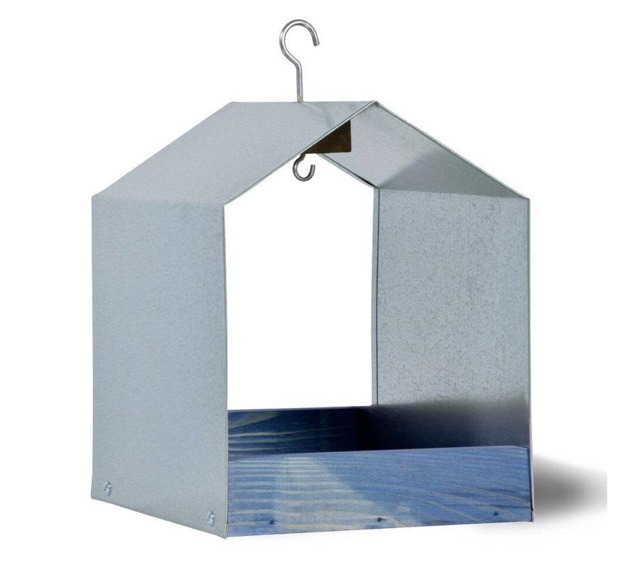 Voederhuis hanghaak - Blauw / Metaal