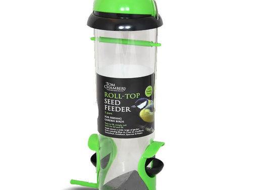 Tom Chambers Vogelvoederautomaat - Roll top - 2 in 1