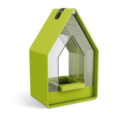 Emsa Landhaus Vogelvoeder Dispenser Lime