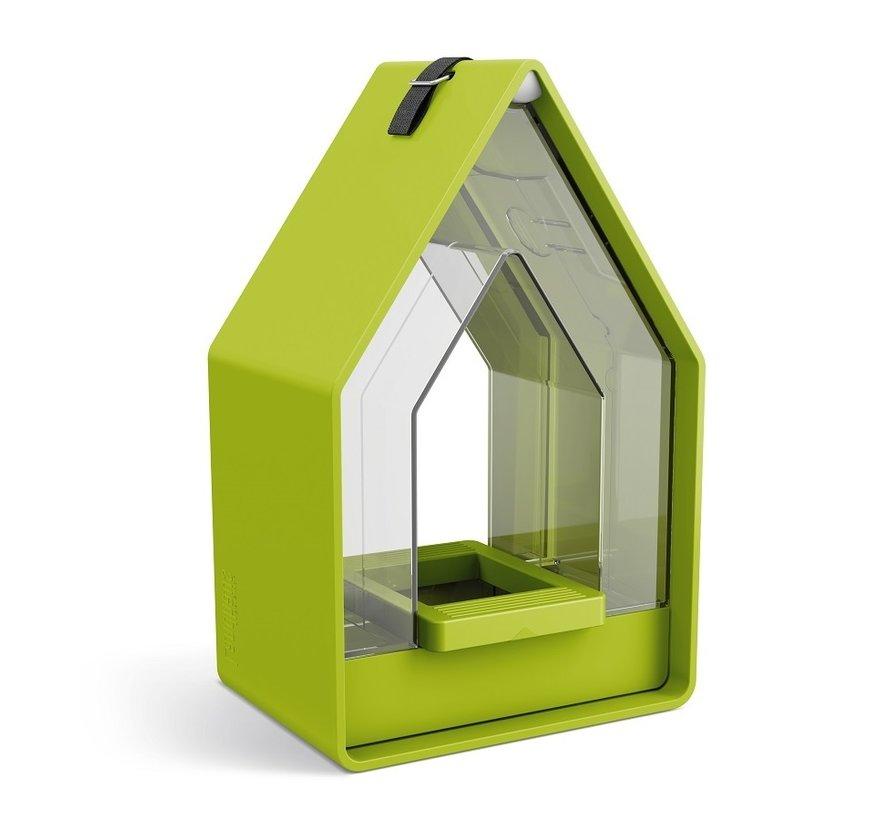Landhaus Vogelvoeder Dispenser Lime