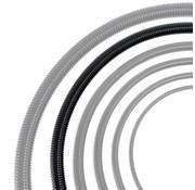 Auga Vijverslang zwart 40 mm x 30 meter