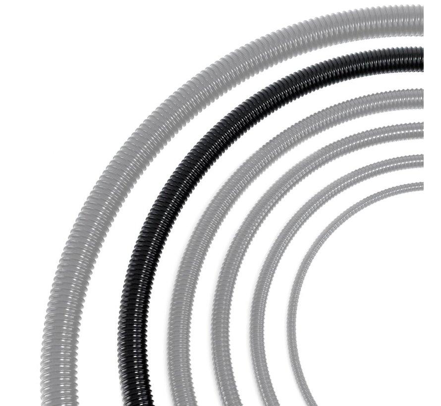 Vijverslang zwart 40 mm x 30 meter