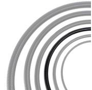 Auga Vijverslang zwart 25 mm x 30 meter