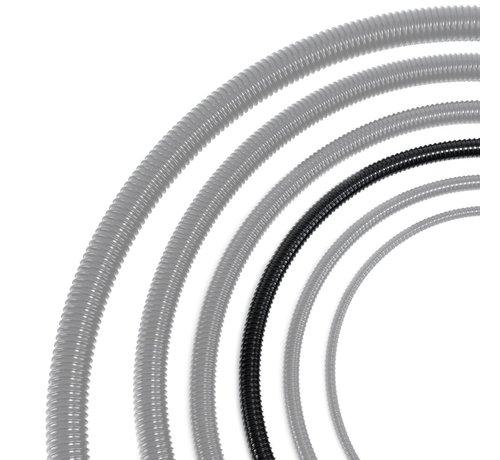 Meuwissen Agro Vijverslang zwart 25 mm x 30 meter